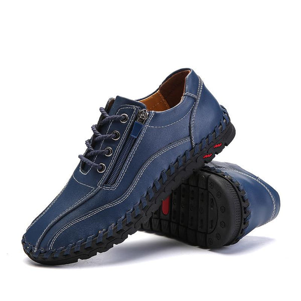 Fashion Breathable Genuine Leather Casual Shoes