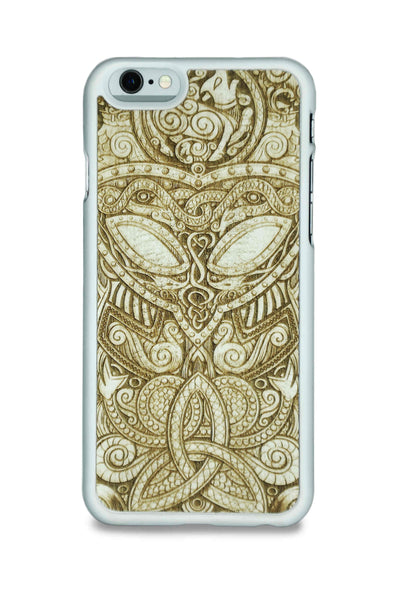 MMORE WhiteWood Viking Mask Phone case - Phone Cover - Phone accessories