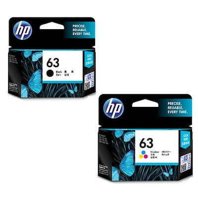 HP 63 BLACK / Tri-Colour