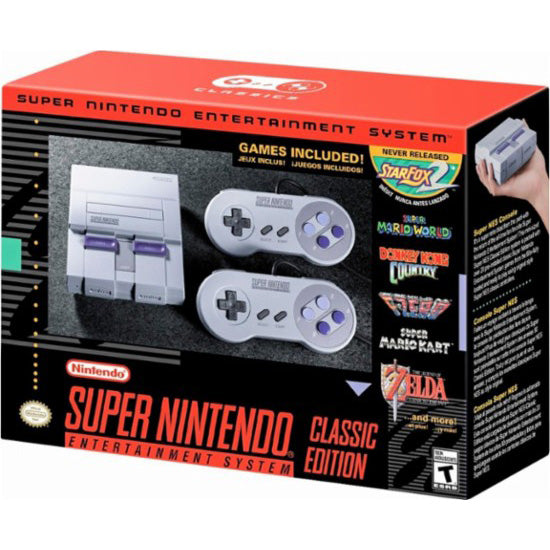 Super Nintendo Entertainment System Classic Mini Edition