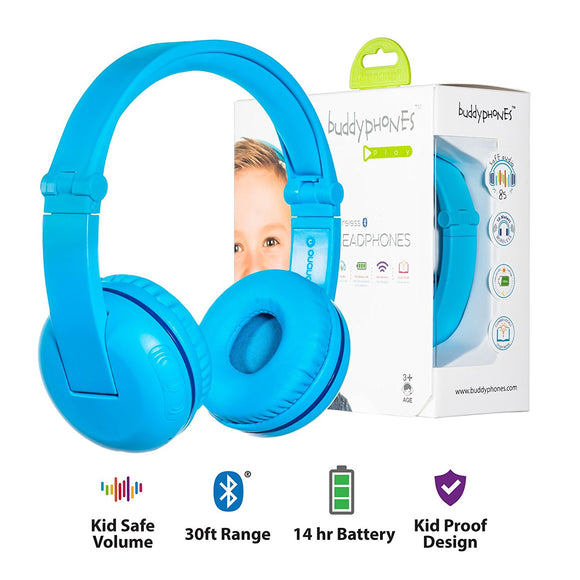 Onanoff Play Wireless Bluetooth Kids Headphones
