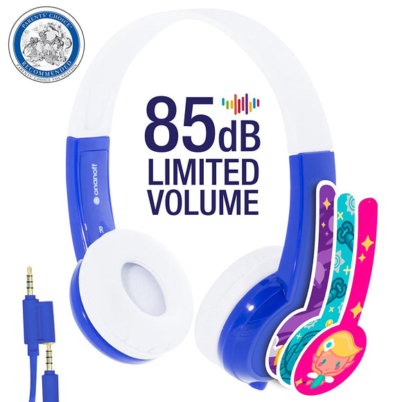 Onanoff Explore Volume Limiting Kids Headphones
