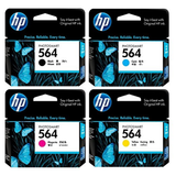 HP 564 BLACK / CYAN / MAGENTA / YELLOW / PHOTO BLACK