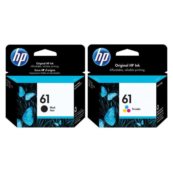 HP 61 BLACK / Tri-Colour