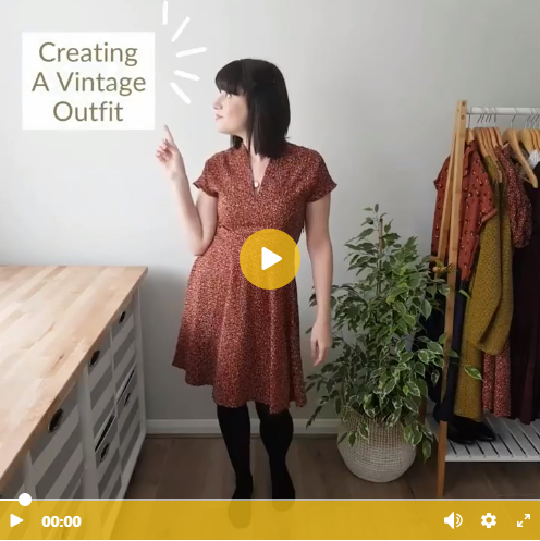 how to create the perfect modern vintage style outfit