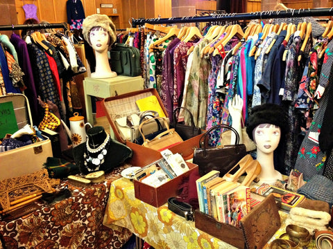 Judy's Affordable Vintage Fair vintage clothing shopping