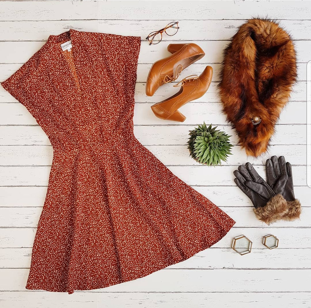 Autumn Swing Dress