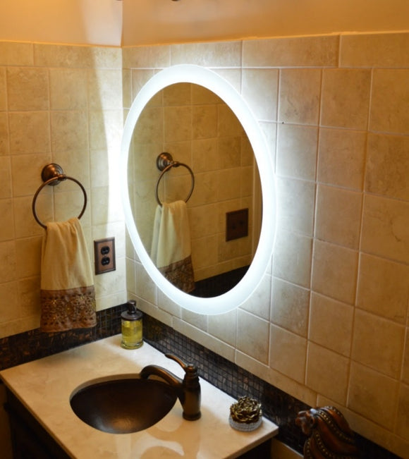Benefits of a Lighted Mirror in Your Bathroom