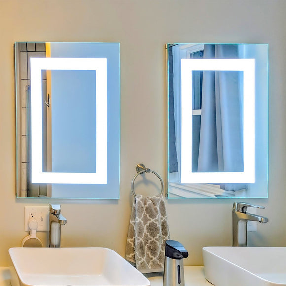 Led Lighted Vanity Mirrors Bathroom Mirrors And Medicine