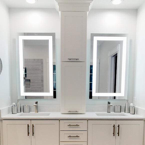 Shop Rectangular Front-Lighted LED Mirrors