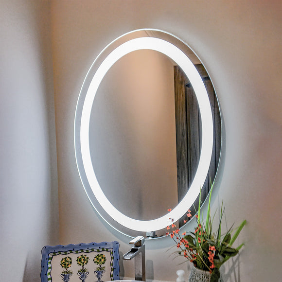 Shop Oval Front-Lighted LED Mirrors