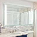 Shop Rectangular Front-Lighted Vertical LED Bar Mirrors