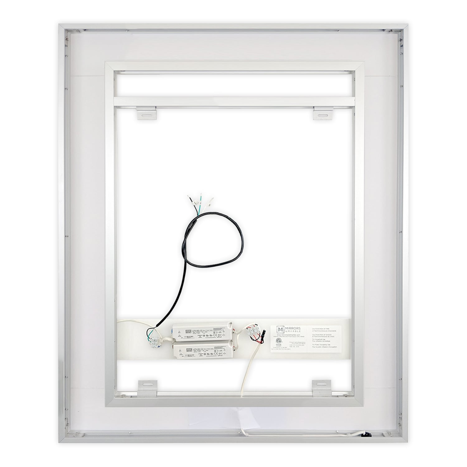 Front Lighted Led Bathroom Vanity Mirror 40 Quot X 48