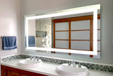 LED Bathroom Vanity Mirror Rectangular Front Lighted 72x36 C