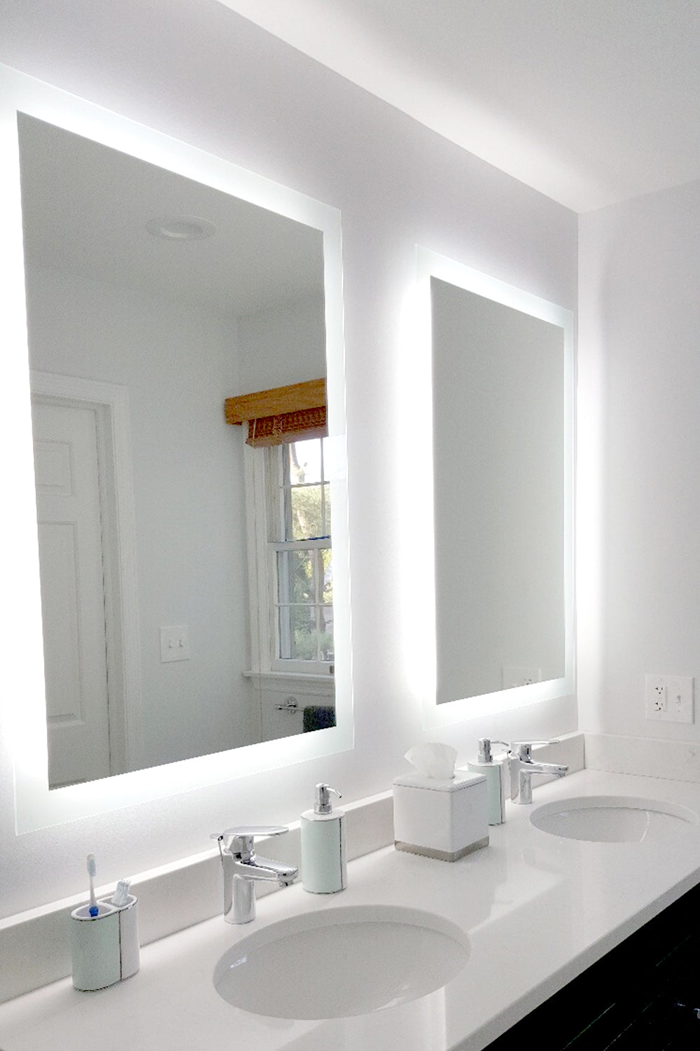 Side Lighted Led Bathroom Vanity Mirror 24 Quot X 36