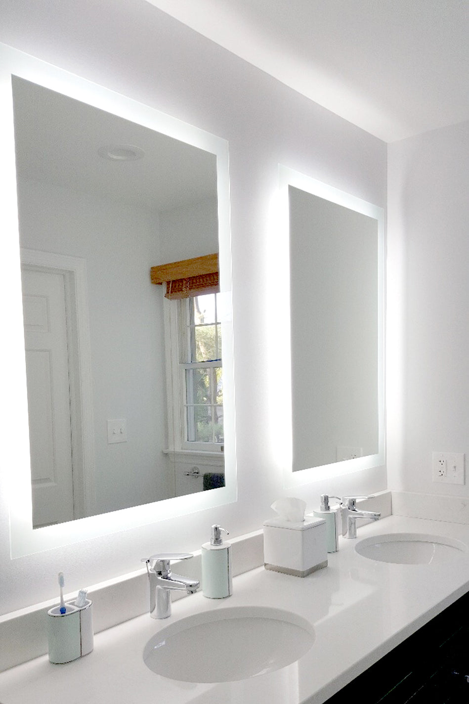 Side Lighted Led Bathroom Vanity Mirror 36 Quot X 44