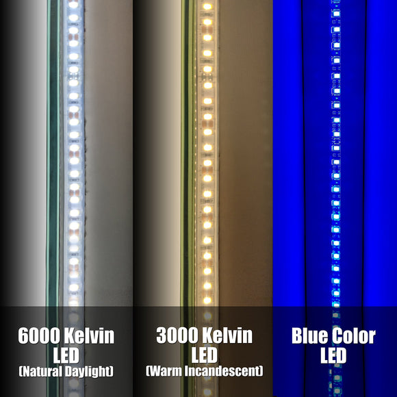 Add Perimeter Color LED / Switch / Dimming Options - Small Mirrors