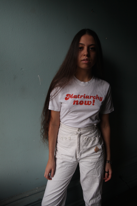 Matriarchy Now! UNISEX WHITE TEE