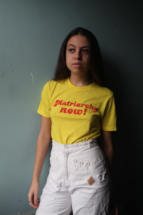 Matriarchy Now! UNISEX YELLOW TEE