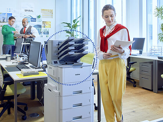 Brother mid/large workgroup, small workgroup/office and home office/small office devices
