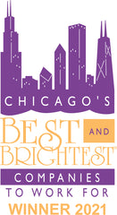 """""""Chicago's Best and Brightest Companies To Work For"""" Winner 2021"""