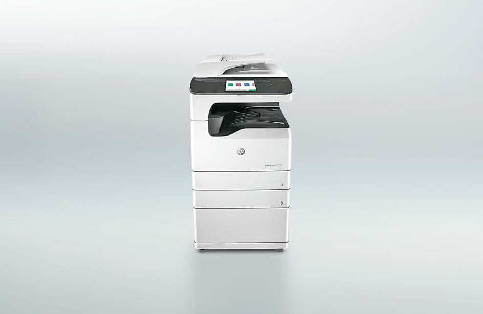 HP A3 managed PageWide MFPs and printers
