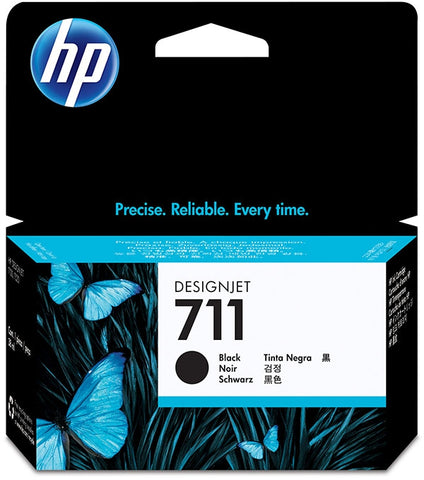 HP 711 (CZ129A) Black Original Ink Cartridge (38 ml)