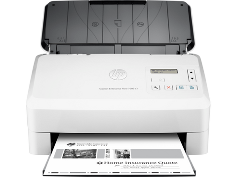 HP SCANJET ENTERPRISE FLOW 7000 S3 SHEET-FEED SCANNER.