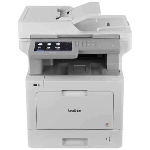 Brother Workhorse MFC-L9570CDW Color Laser MFP (33 ppm) (1 GB) (Duty Cycle 80000 Pages) (p/s/c/f) (USB) (Ethernet) (Wireless) (Touchscreen) (250 Sheet Input Tray) (80 Sheet ADF) (HW No Free Freight)