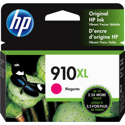 HP 910XL (3YL63AN) OfficeJet Pro 8020 Magenta Original Ink Cartridge (825 Yield)