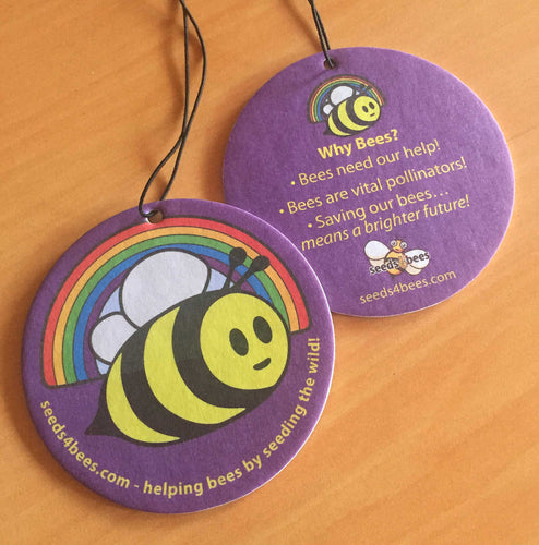 Bee-Fresh - Rainbow Bee Air Freshener - Pack of 2