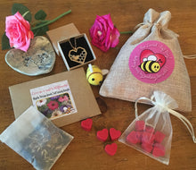 Bee Loved Gift Bag - Melting Hearts and Sowing the Seeds of Love!
