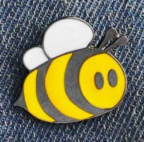 Baby Bee Pin Badge