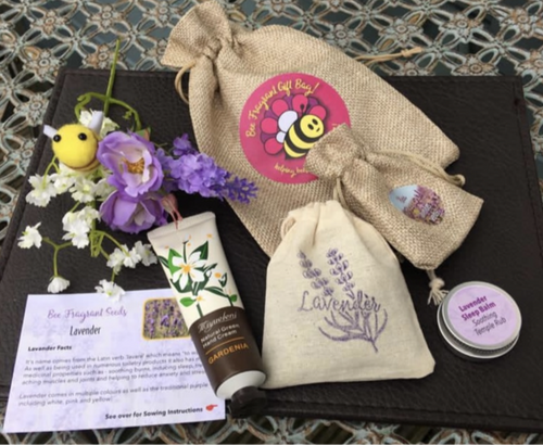 'Bee Fragrant' Calm and Relax Gift Bag - Soothing Scents for the Senses!