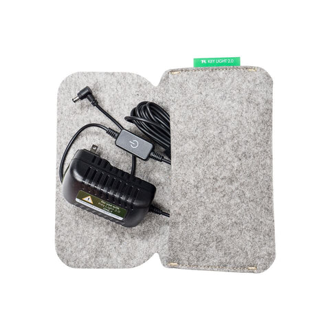 Key Light Felt Power Assembly Pouch