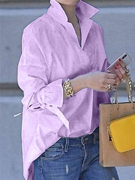 Long Sleeve Casual Blouse & Shirts