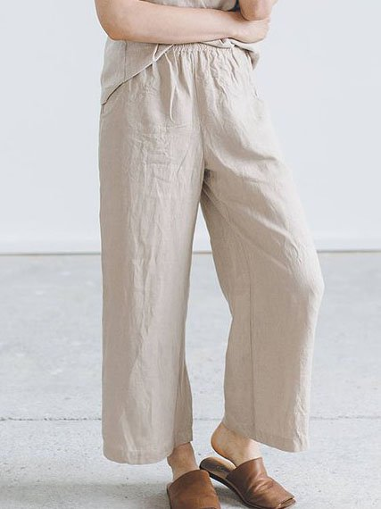 Summer Casual Loose Daily Pants