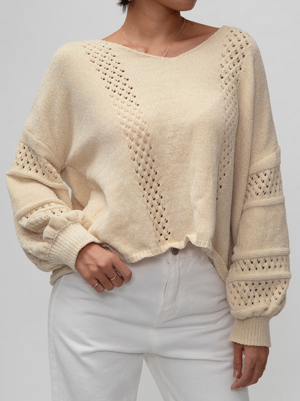 Khaki Knitted Sweater