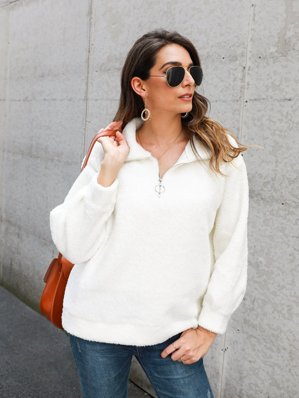 Long Sleeve Shift Turtleneck Sweater