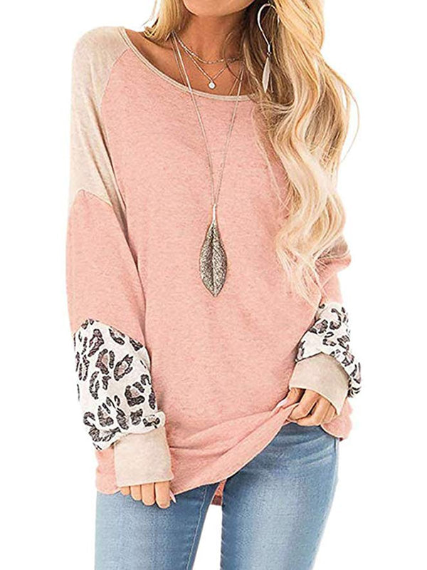 Holiday Leopard Print Shirts & Tops