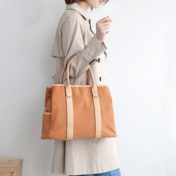Simple Multifunctional Waterproof Oxford cloth Slung Shoulder Commuter Handbag