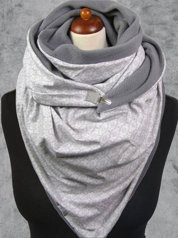 Cotton-Blend Casual Scarves & Shawls