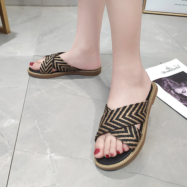 Women Flat Heel Casual Sandals