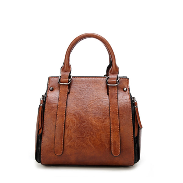 Women Retro Casual Boston Bag