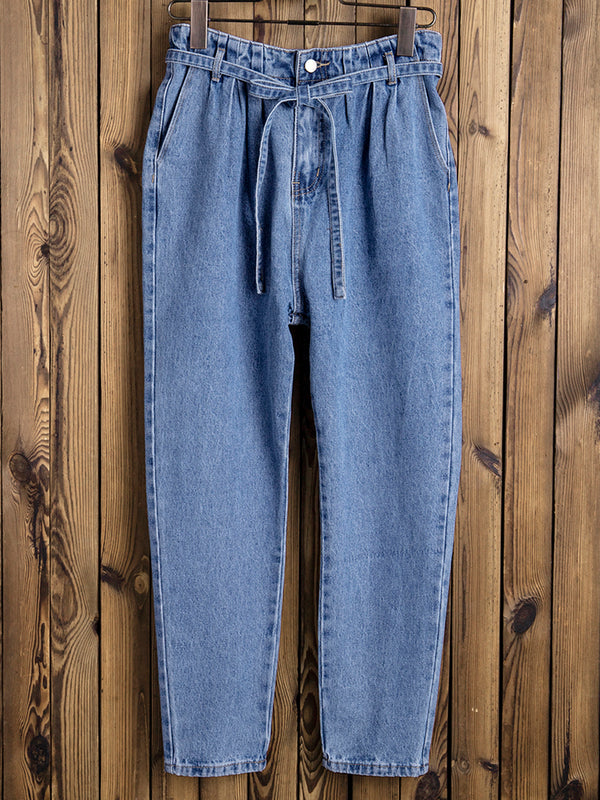 Womens Daily Denim Pants