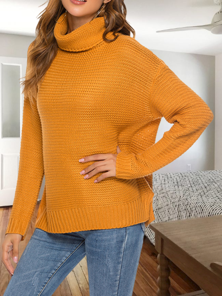 Turtleneck Holiday Long Sleeve Shirts & Tops