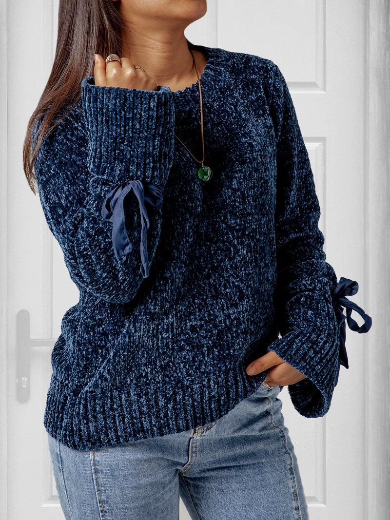 Crew Neck Long Sleeve Sweater