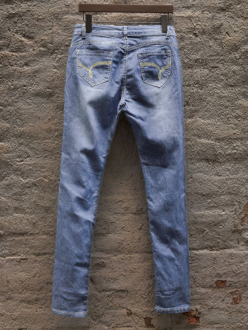 Casual washed Denim jeans