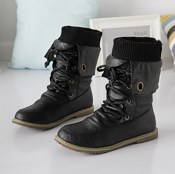 Women Daily Winter Pu Boots