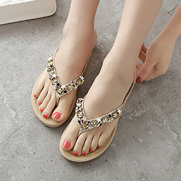 Women Flat Heel Holiday Sandals
